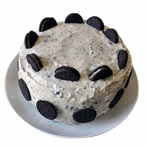 Oreo Cookies Cream Cake - Chandigarh Special