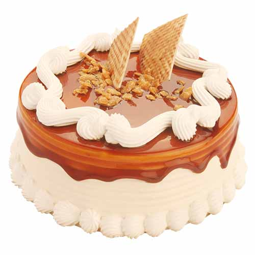 Yummy Butterscotch Cake - Chandigarh Special
