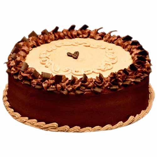 Yummy Butterscotch Cream Cake - Chandigarh Special