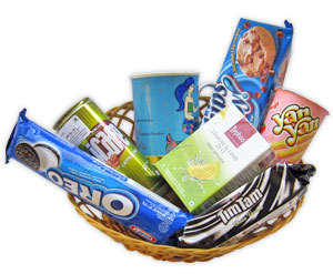 Tea Time Basket