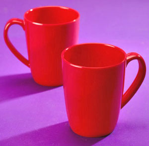 Thai Melamine Coffee Mug - Set of 2