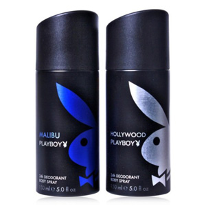 Playboy Pack of 2 Deos for Men - Malibu & Hollywood
