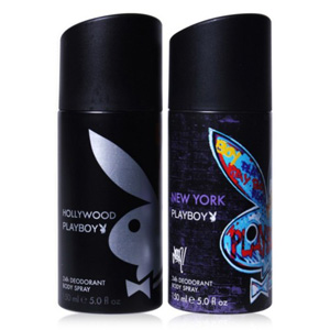 Playboy Pack of 2 Deos for Men - New York & Hollywood