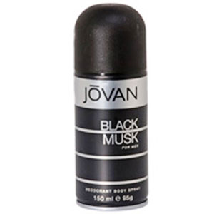 Deodorants & Antiperspirants-Jovan Black Musk Deo for Men
