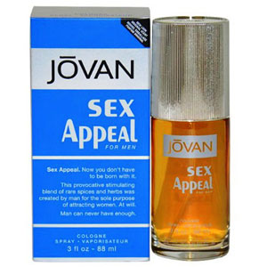 Jovan Sex Appeal Perfume for Men