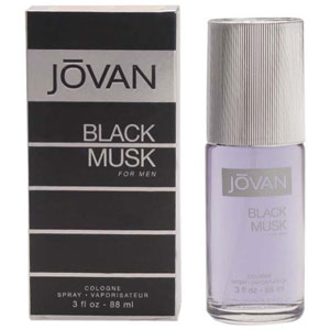 Jovan Black Musk Cologne for Men