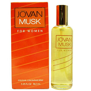 Women's Fragrances-Jovan Musk Cologne for Women