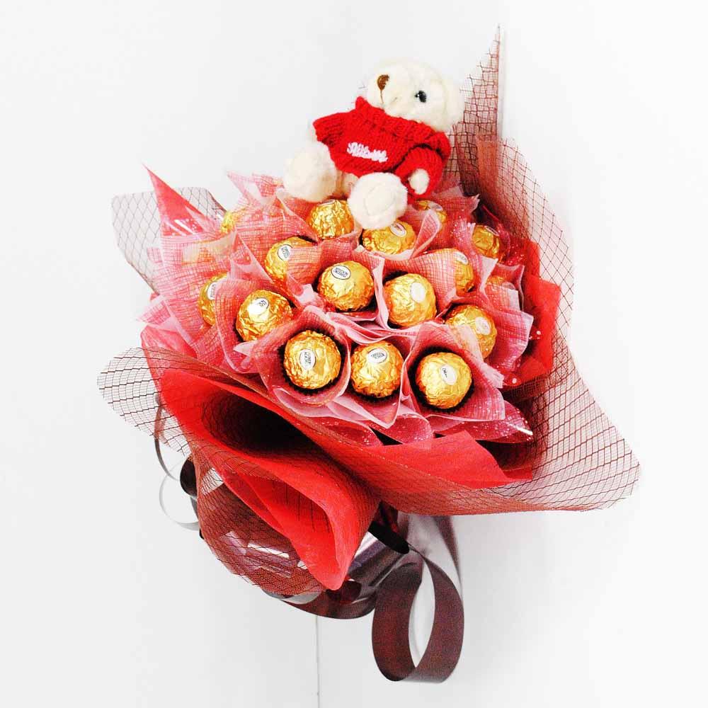 Red Ferrero Chocolate