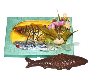 Fish Shaped Chocolates