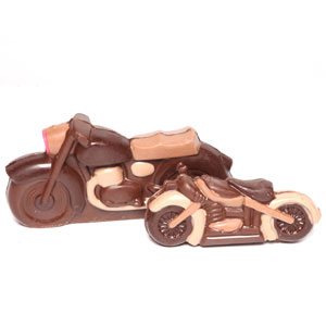 Bike Shaped Chocolates