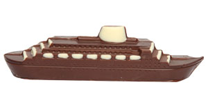 Ship Shaped Chocolates