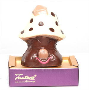 Mushroom House Shaped Chocolates