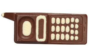 Mobile Shaped Chocolates