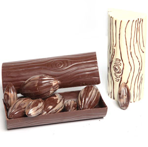 Bamboo Shaped Chocolates