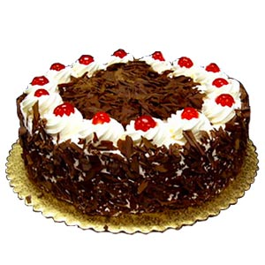 Eggless Black Forest Cake - Mumbai Special