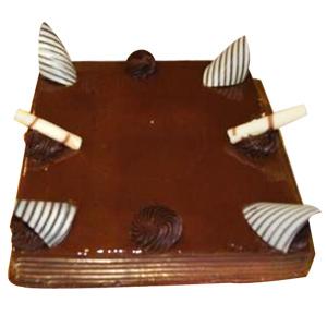 Eggless Chocolate Truffle Cake - Mumbai Special