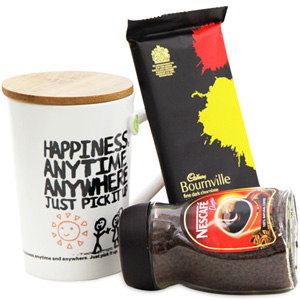 Tea & Coffee Gift Hamper-Coffee Delight