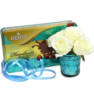 Chocolate Hampers-Classy Birthday Combo