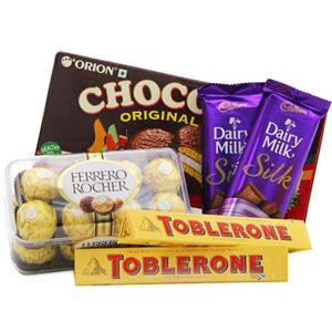 Chocolate Hampers-An Original Zest