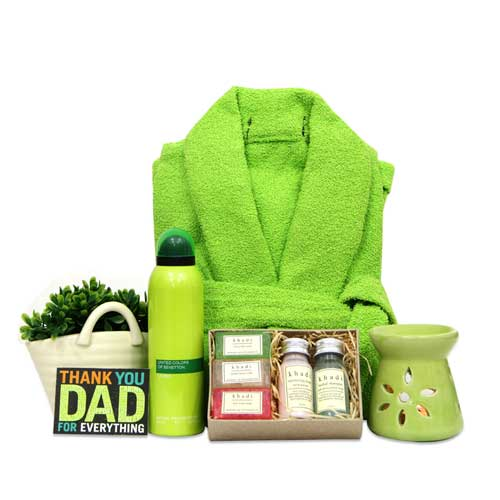 Beauty & Spa Hampers-Spa Gift Hamper For Dad