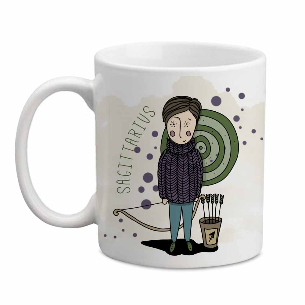 Personalized Sagittarius Mug for Him