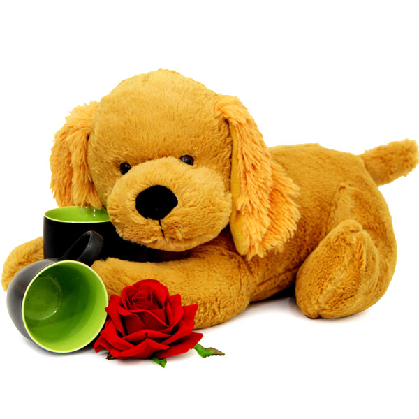 Teddy Mugs N Roses
