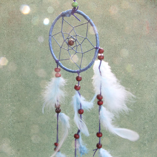 Dream Catcher in Blue