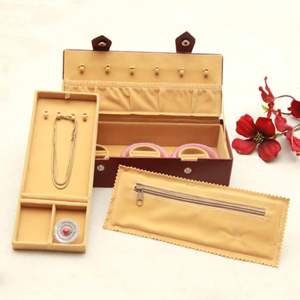 Leather Bangle organizer Small