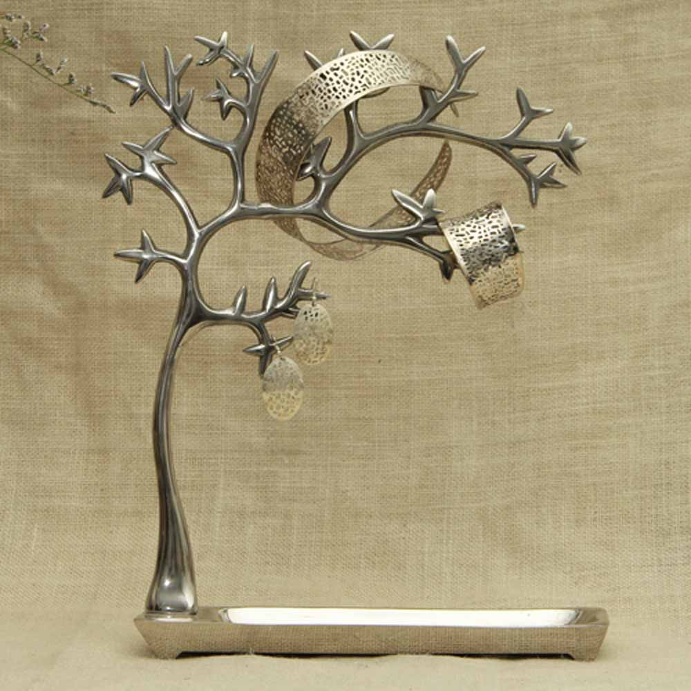 Jewelry Set with Stylish Jewelry Tree