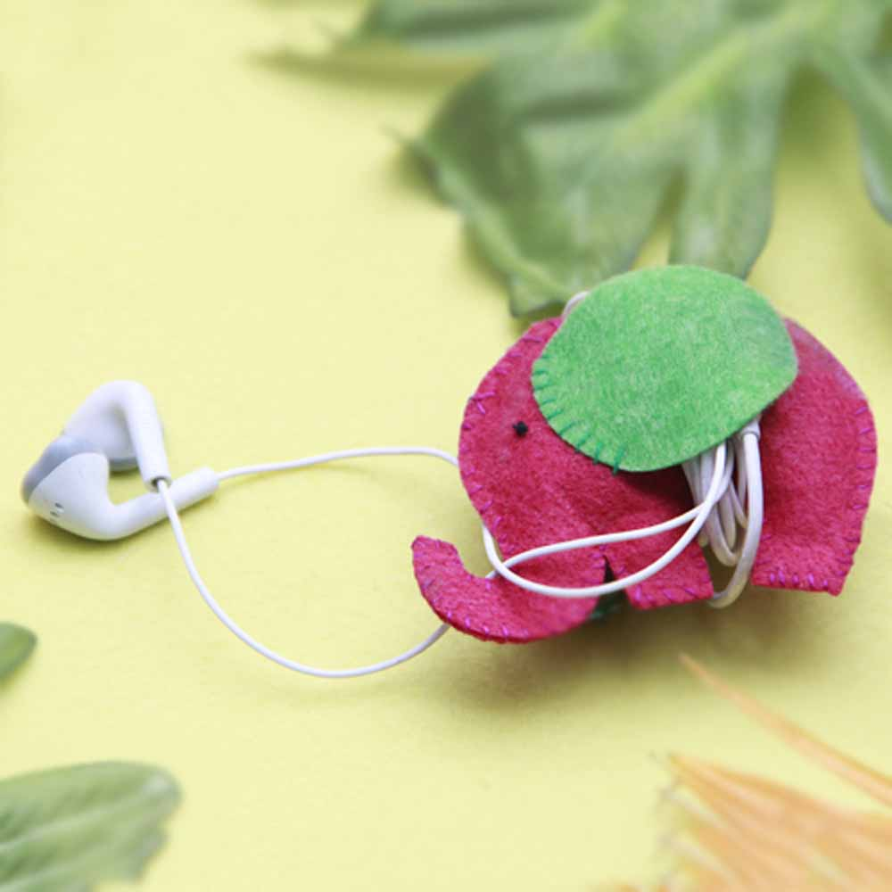 Fabric Earphone Wrap