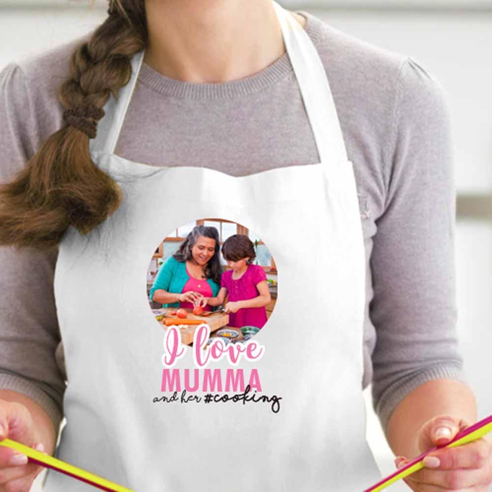 Personalized Printed Apron (Love Mumma)