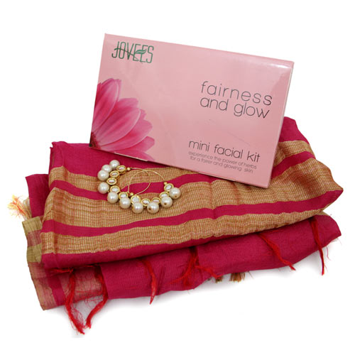 Facial Kit N Stole For Mother