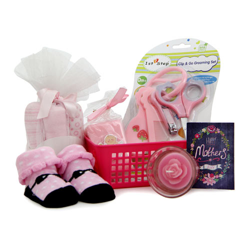 Beauty & Spa Hampers-Gift Hamper For New Mom