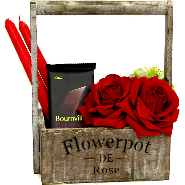 Flower Pot N Rose
