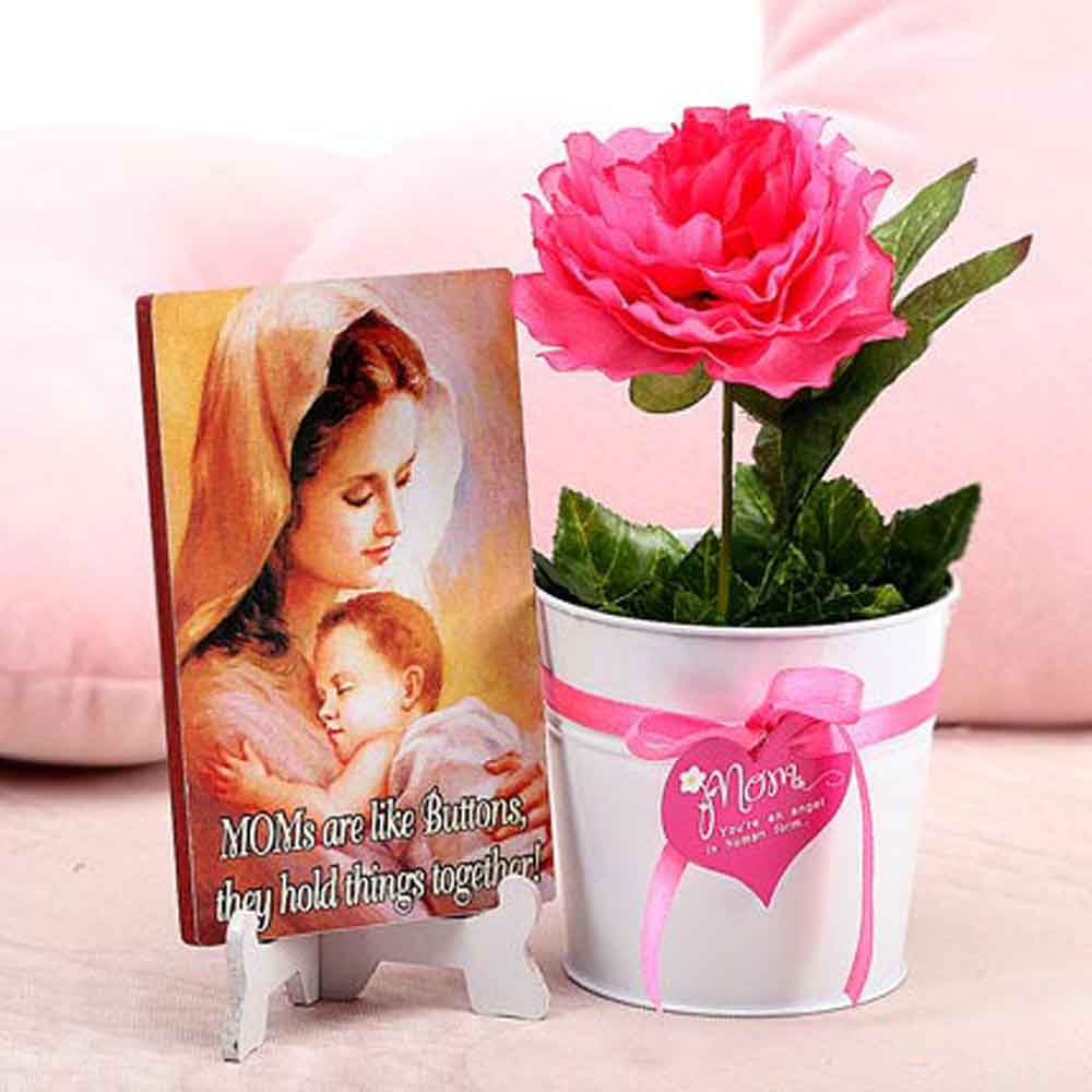 Mothers Day Blooming Love Of Mom