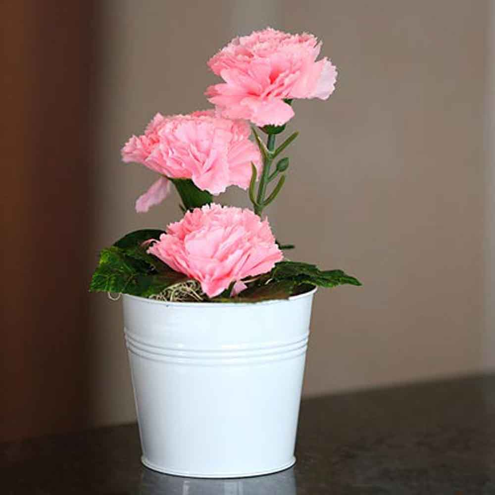 Mothers Day Blooming Carnations Artificial Plant