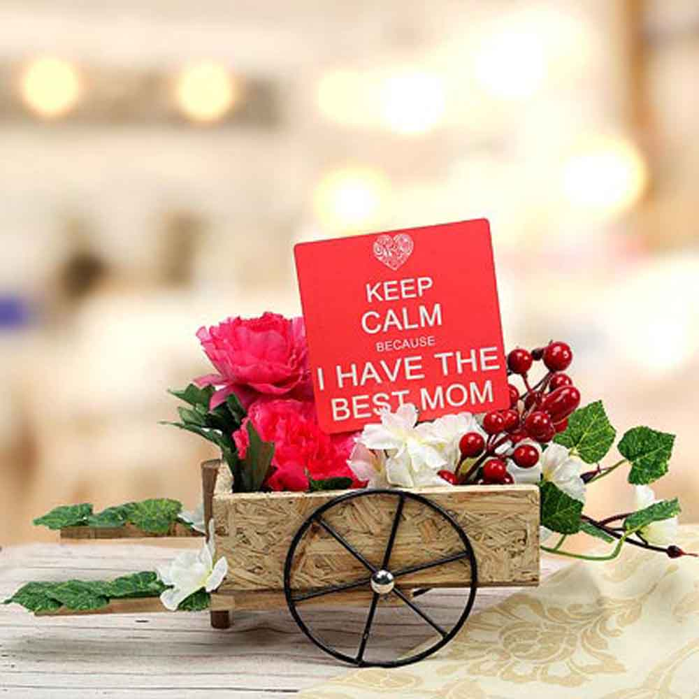 Mothers Day Cart For Best Mom