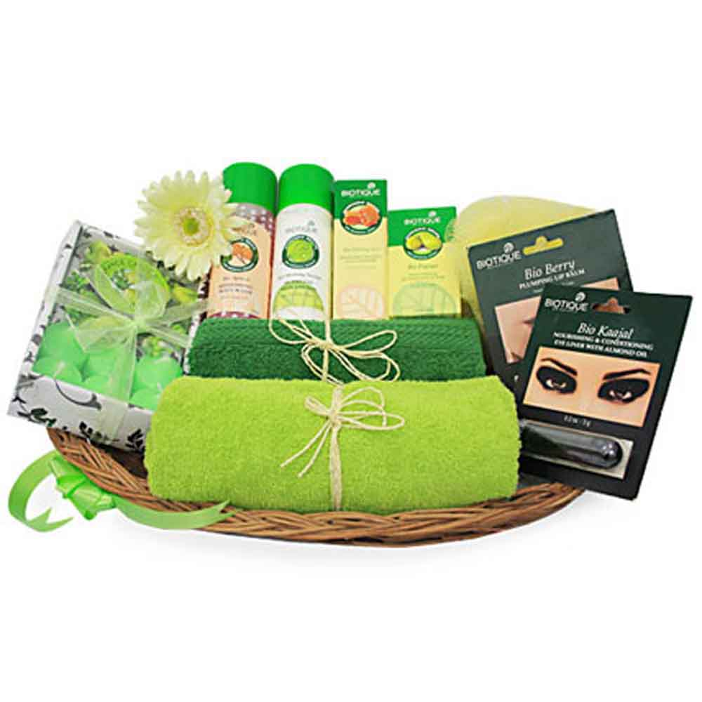 Mothers Day Green Spa Hamper