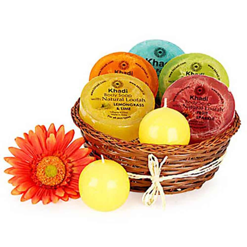 Mothers Day Heavenly Relaxing Soap Hamper