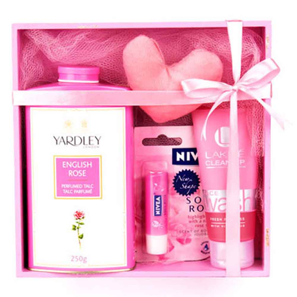 Beauty & Spa Hampers-Mothers Day Refreshing Pink Hamper