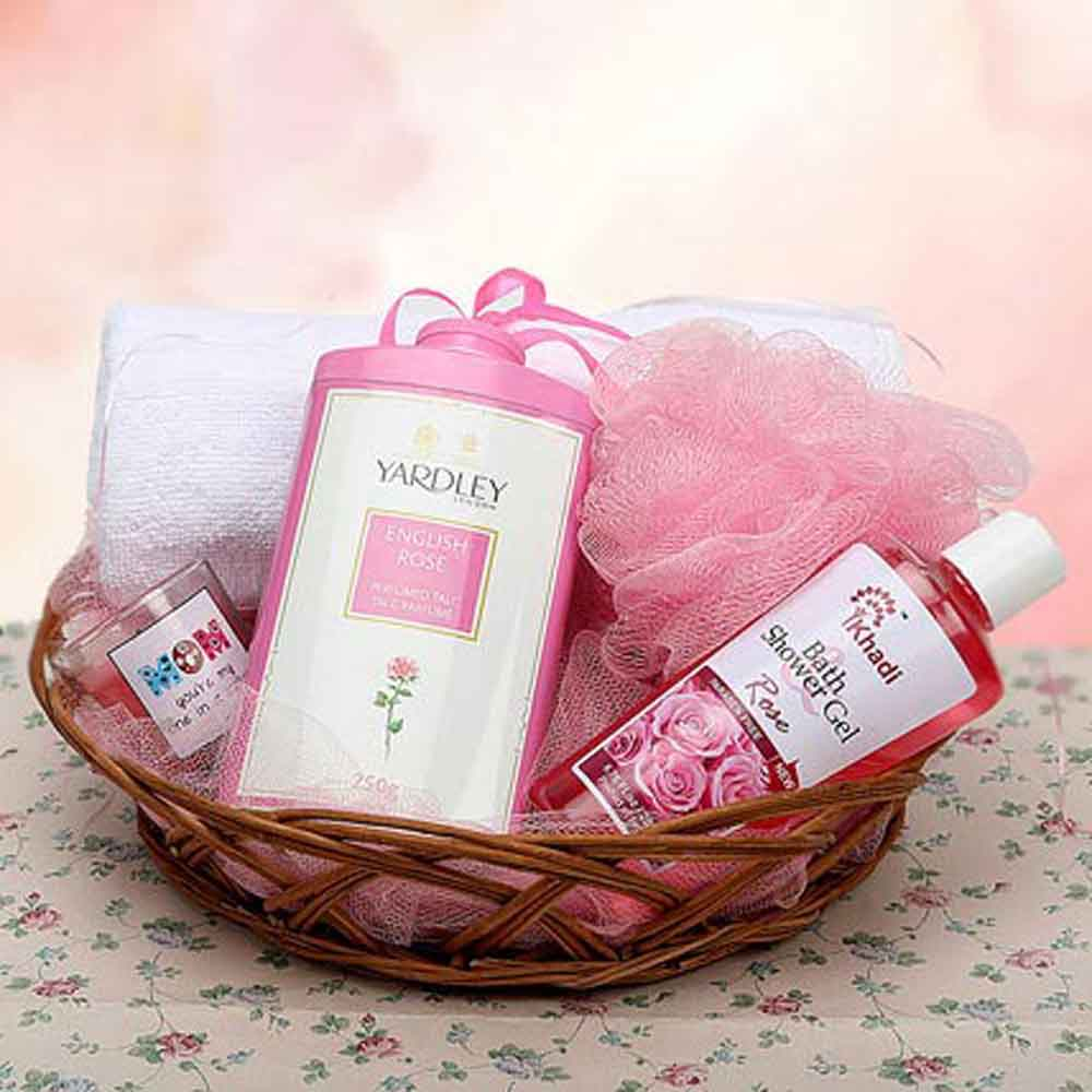 Beauty & Spa Hampers-Mothers Day Basketful of Love