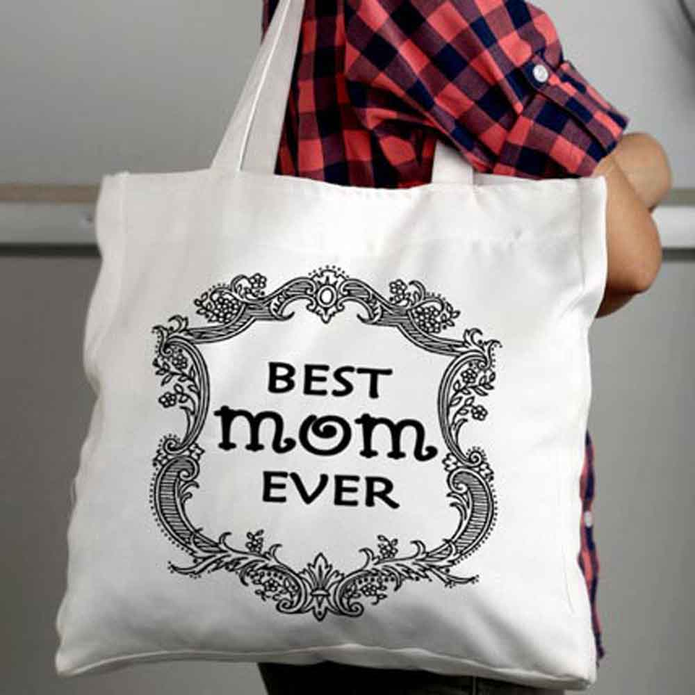 Mothers Day Best Mom Ever Bag