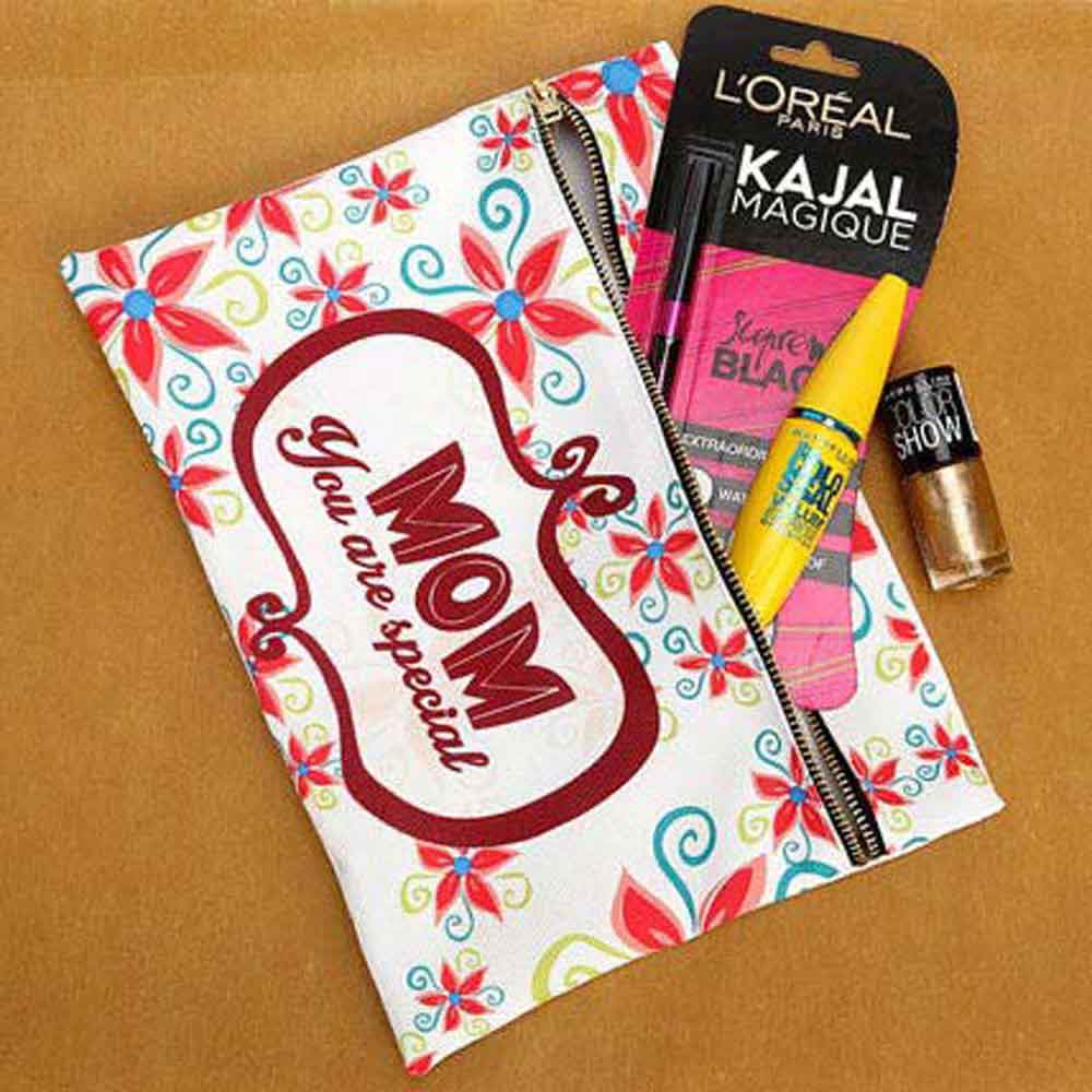Beauty & Spa Hampers-Mothers Day Mom's Makeup Pouch