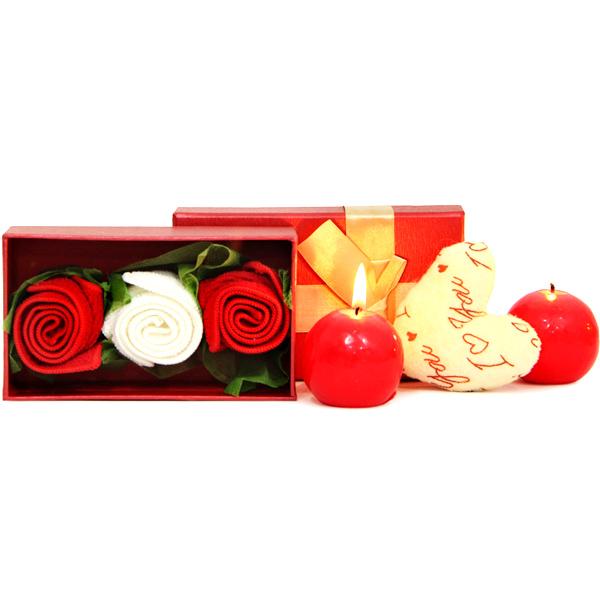 Candles, Rose N Handkerchief