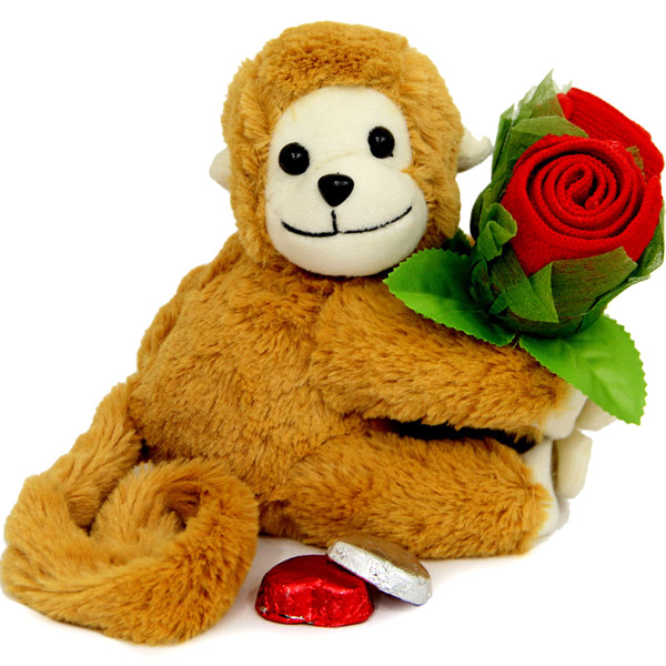 Teddy N Rose Handkerchief