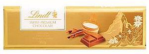 Lindt-Lindt Swiss Milk Chocolate Bars