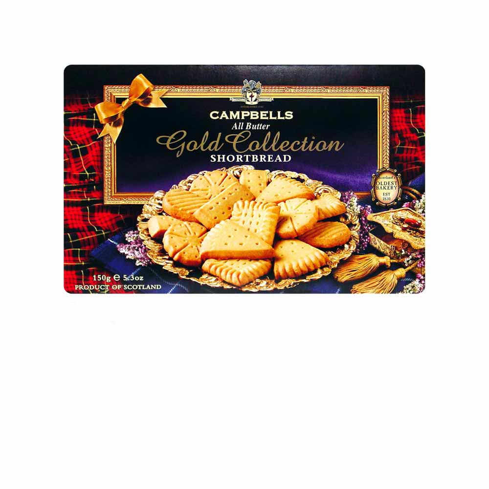 Campbells Gold collection shortbread