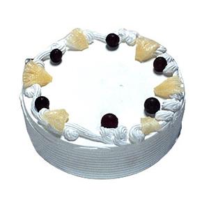 Creamy Pineapple Cake - Delhi Special