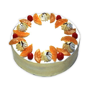 Fresh Fruit Cake - Delhi Special