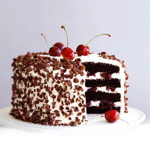 Black Forest Cake - Delhi Special